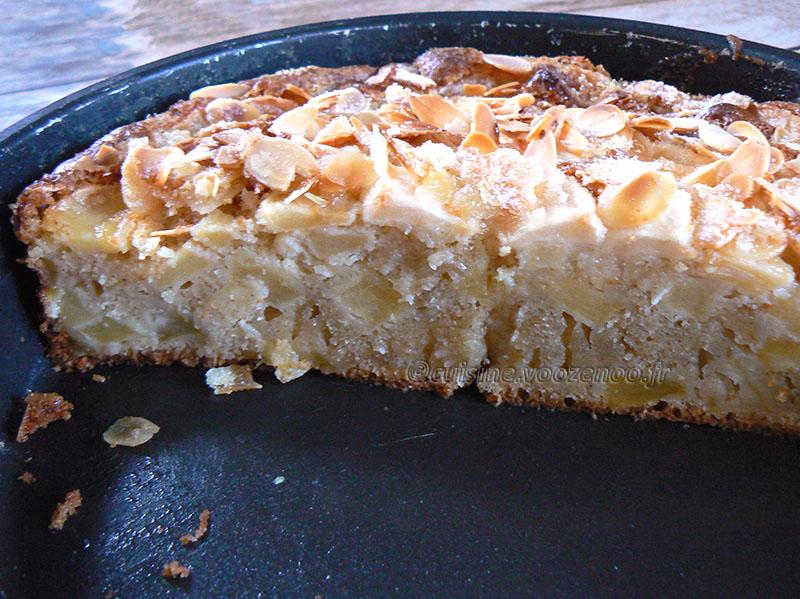 Eplekake – Gâteau aux pommes norvégien fin2