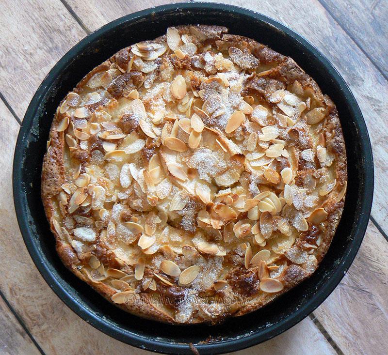 Eplekake – Gâteau aux pommes norvégien presentation