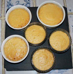 Crème renversante au caramel et biscuit breton fin