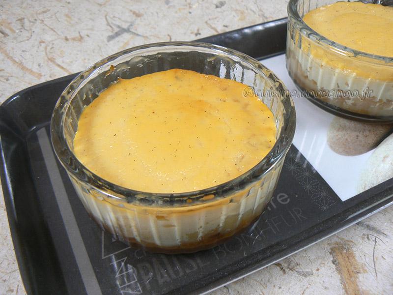 Crème renversante au caramel et biscuit breton fin2