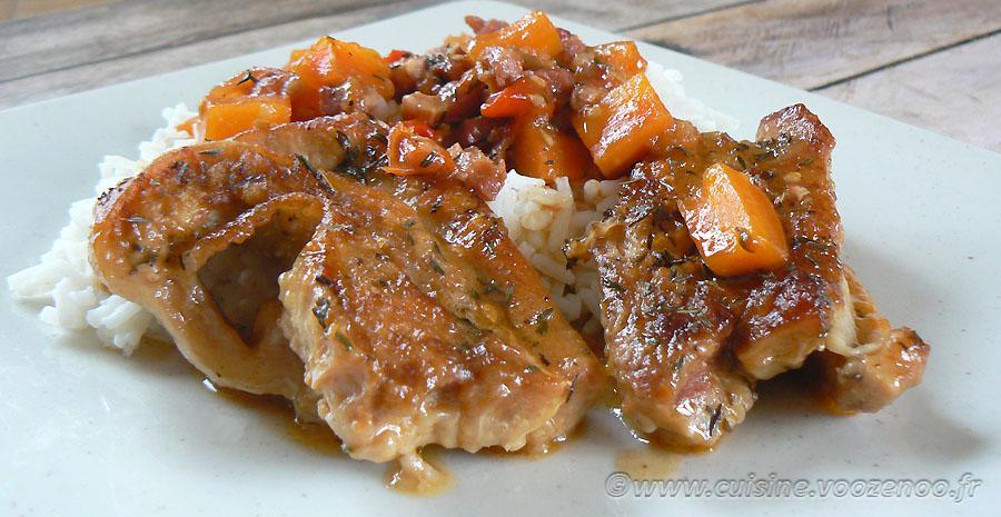 Tendrons de veau sautés aux carottes slider