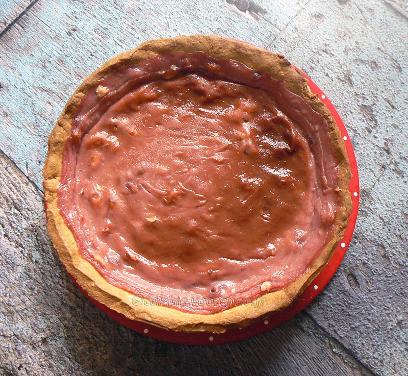 Flan pâtissier aux pralines roses et fleur d'oranger fin2